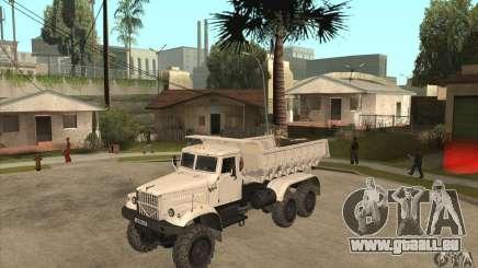 Camion à benne basculante KRAZ 225 pour GTA San Andreas