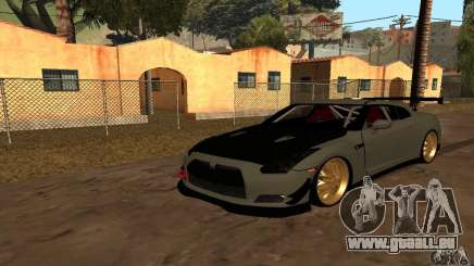 Nissan GTR R35 Tuning pour GTA San Andreas