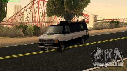 New News Van pour GTA San Andreas