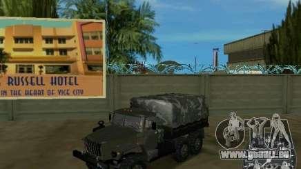Ural 4320 militaire pour GTA Vice City