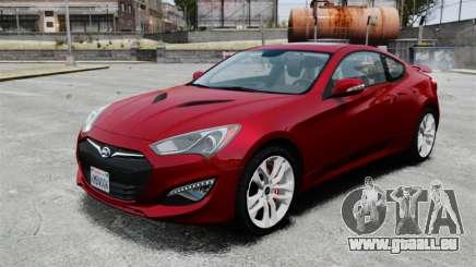 Hyundai Genesis Coupe 2013 für GTA 4