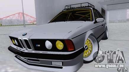 BMW M635CSi Stanced pour GTA San Andreas