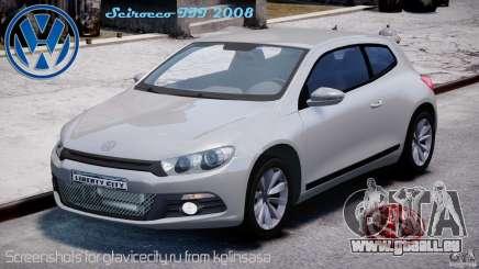 Volkswagen Scirocco III 2008 für GTA 4