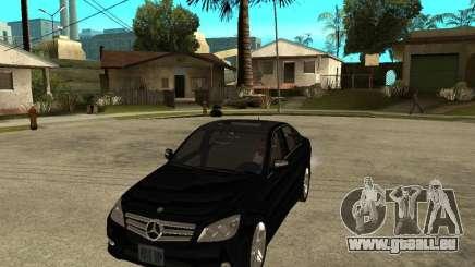 Mercedes Benz C350 W204 Avantgarde pour GTA San Andreas