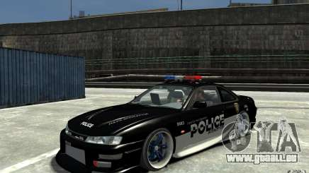 Nissan 200SX Police v0.2 für GTA 4