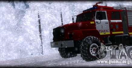 Ural 43206 AC 3.0-40 für GTA San Andreas