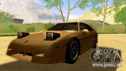 Pontiac Fiero V8 für GTA San Andreas