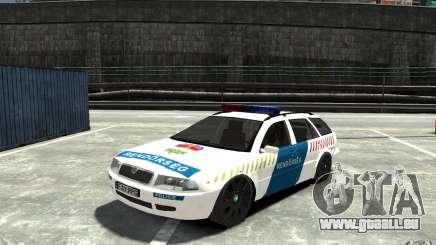 Skoda Octavia Kombi 2005 Hungarian Police pour GTA 4
