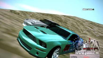 Ford Shelby GT500 Falken Tire Justin Pawlak 2012 pour GTA San Andreas