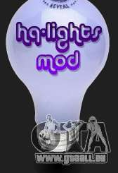 High Quality Lights Mod v2.0 - HQLM v 2.0 pour GTA San Andreas