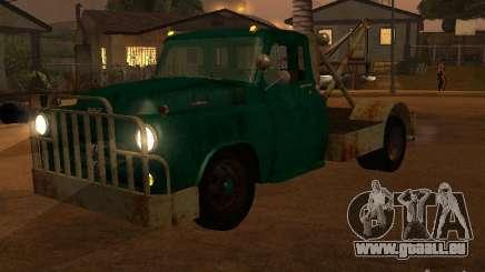 Camion Dodge est rouillée pour GTA San Andreas