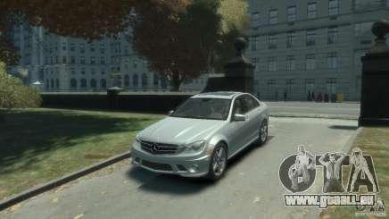 Mercedes Benz C63 AMG 2010 pour GTA 4