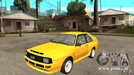Audi SportQuattro 1983 pour GTA San Andreas