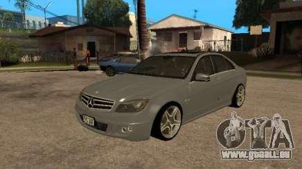 Mercedes-Benz C63 AMG für GTA San Andreas