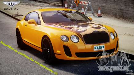 Bentley Continental SS 2010 ASI Gold [EPM] pour GTA 4