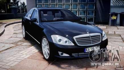 Mercedes-Benz S600 w221 pour GTA 4
