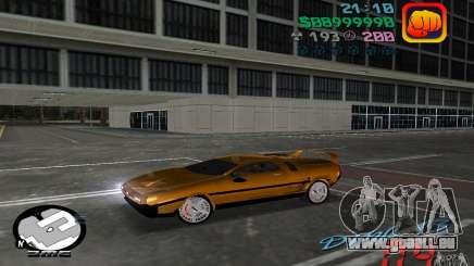 Delorean DMC-13 für GTA Vice City