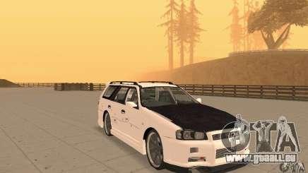 Nissan Stagea GTR für GTA San Andreas
