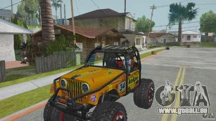 Jeep CJ-7 4X4 pour GTA San Andreas