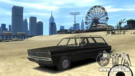 Plymouth Belvedere Wagon 1965 v1.0 pour GTA 4