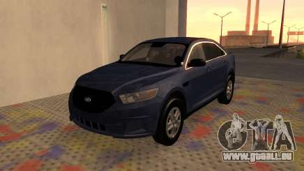 Ford Taurus Interceptor Unmarked 2013 pour GTA San Andreas