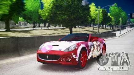 Ferrari California DC Texture für GTA 4