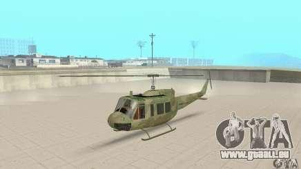 UH-1 Iroquois (Huey) pour GTA San Andreas