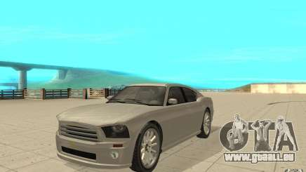 FIB Buffalo in GTA 4 für GTA San Andreas