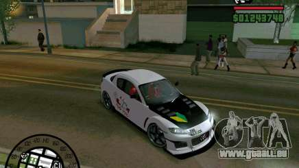 Mazda RX8 JDM Style pour GTA San Andreas