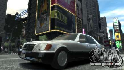 Mercedes-Benz 600SEL wheel2 tinted pour GTA 4