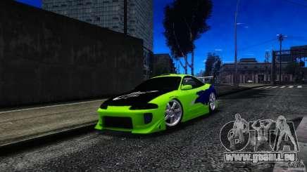 Mitsubishi Eclipse GSX FnF pour GTA 4