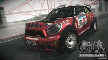Mini Countryman WRC für GTA San Andreas
