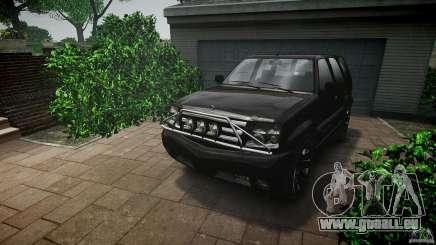 Cavalcade FBI car pour GTA 4