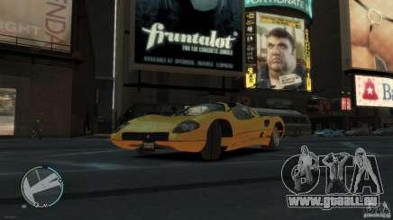 Ferrari P7 De L'Huile D'Olive pour GTA 4