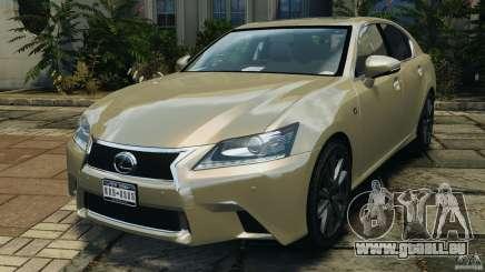 Lexus GS350 2013 v1.0 für GTA 4