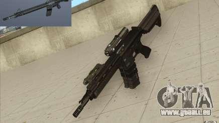 HK416 Gewehr für GTA San Andreas
