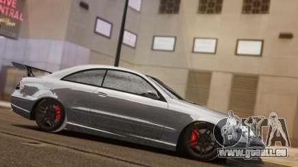 Mercedes-Benz CLK 63 AMG Black Series pour GTA 4