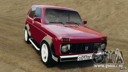 VAZ-21214 Niva (Lada 4 x 4) für GTA 4