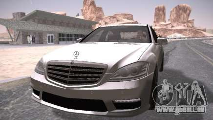 Mercedes Benz S65 AMG 2012 pour GTA San Andreas