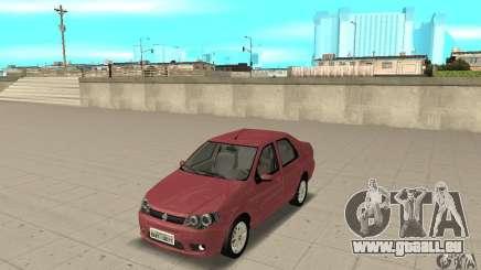 Fiat Siena HLX 1.8 Flex für GTA San Andreas