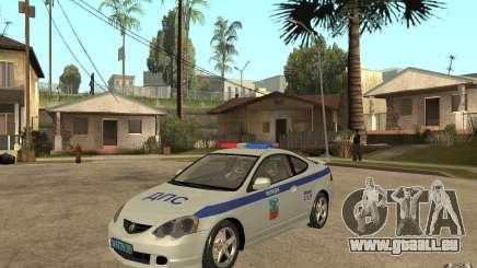 Acura RSX-S DPS ville de Barnaoul pour GTA San Andreas