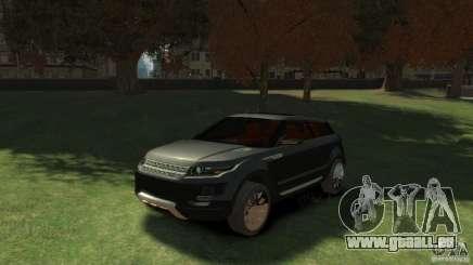 Land Rover Rang Rover LRX Concept für GTA 4