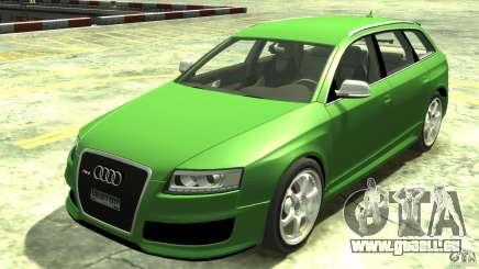 Audi RS6 Avant 2010 Stock für GTA 4