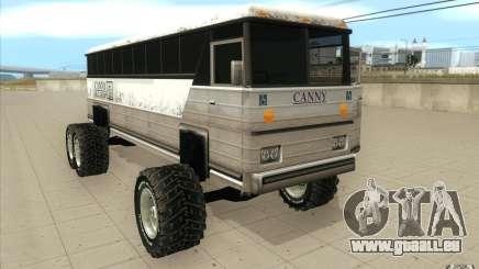 Bus monster [Beta] pour GTA San Andreas