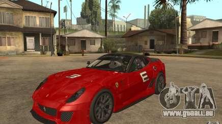 Ferrari 599xx 2010 pour GTA San Andreas