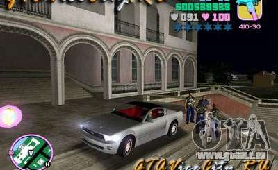 Ford Mustang GT Concept pour GTA Vice City
