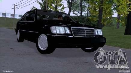 Mercedes-Benz 600SEL für GTA San Andreas