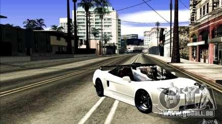 Acura NSX Tuned für GTA San Andreas