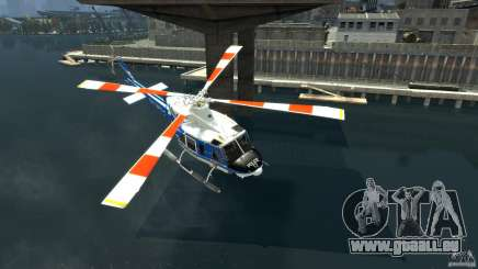 Bell412/NYPD Air Sea Rescue Helicopter pour GTA 4