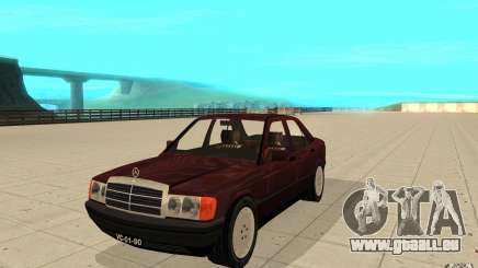 Mercedes-Benz 190 E (W201) 1984 version 1.0 pour GTA San Andreas
